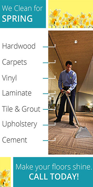 Janitorial cleaning email marketing.