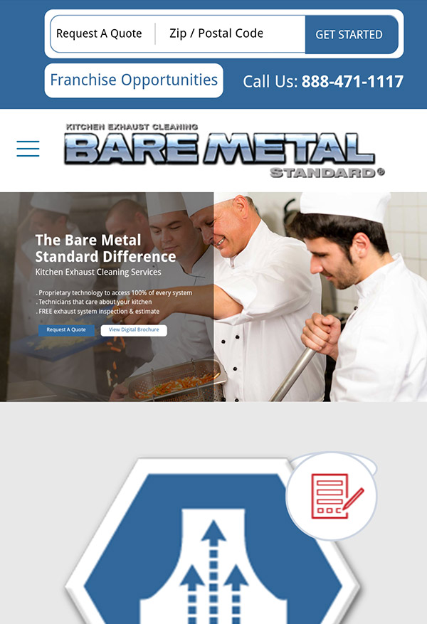Bare Metal Standard Corporate Site